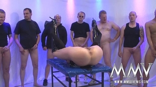 MMV FILMS Tough German Gang-fuck